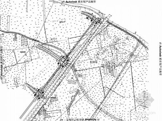 两车道市政道路工程施工图全套95张(交通监控 箱涵排水照明)