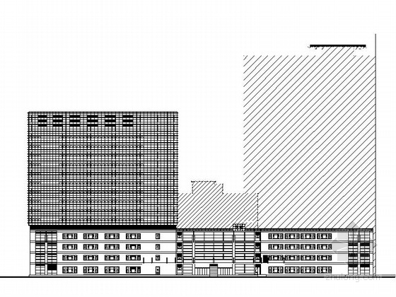 [上海]某知名大学附属医院22层门急诊医疗综合楼施工图