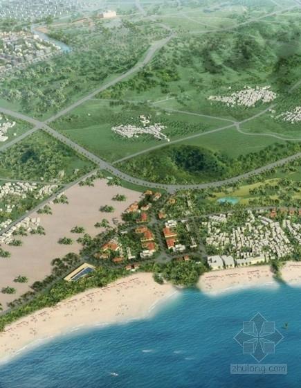 [福建]生态滨水旅游小镇景观规划设计方案(知名公司设计)