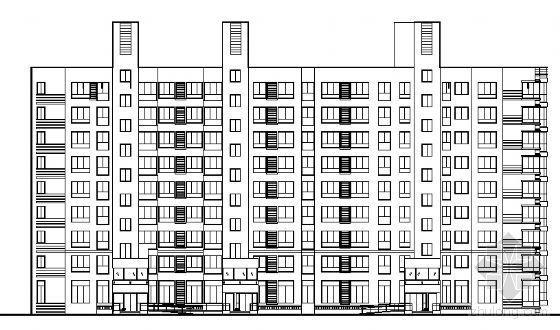 北京市石景山远洋山水某住宅楼建筑结构施工图
