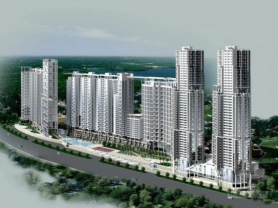 [广东]现代风格住宅区规划及单体设计方案文本