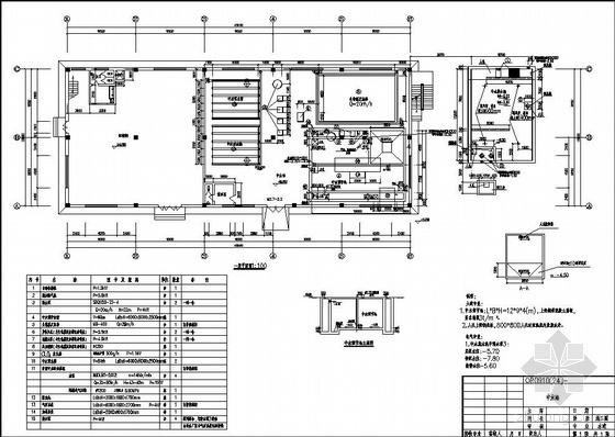 大型工业中水站施工图设计图