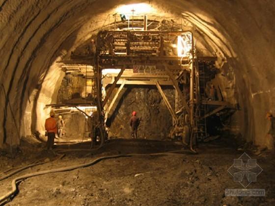 双向四车道公路隧道洞身支护专项方案(37页 湿喷工艺)