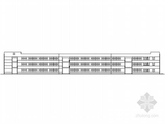 某三层框架结构厂房建筑施工图