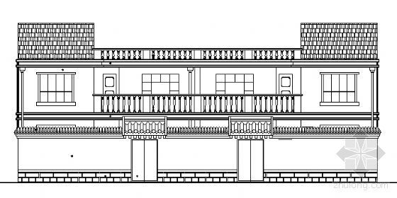 某二层小康新农居建筑结构施工图(带效果图)