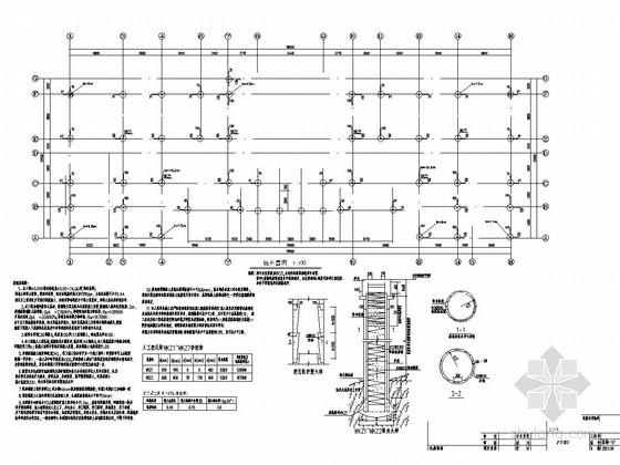 [山东]地上三层框架结构办公楼结构施工图