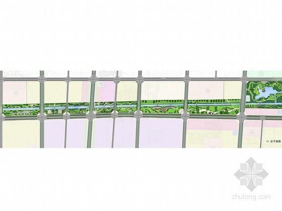 [毫州]带状公园规划方案