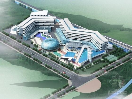 [山东]某国际饭店建筑设计方案文本(含psd)