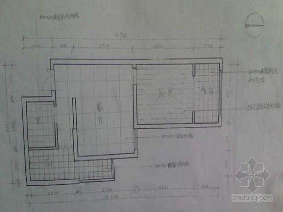 某现代简约风格一居室装修室内设计方案
