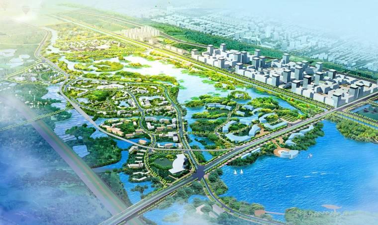 [广东]东莞生态园中心区城市设计(生态、创新)