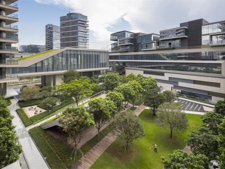 深圳湾1号住宅景观