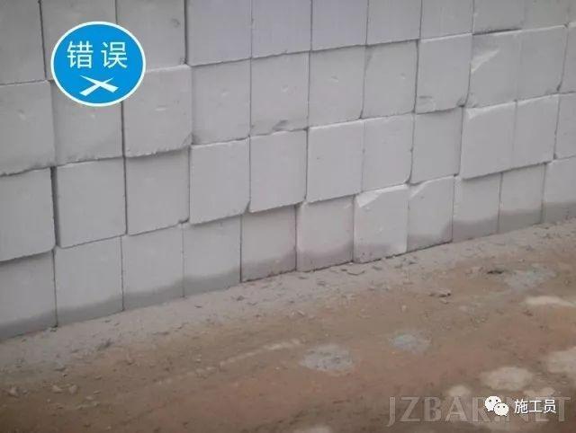 [图文分析]砌体工程施工质量控制标准做法