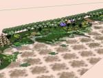 湿地公园景观.设计.skp