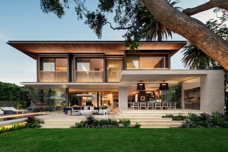 UP住宅资料下载-衬托高级感的海湾住宅