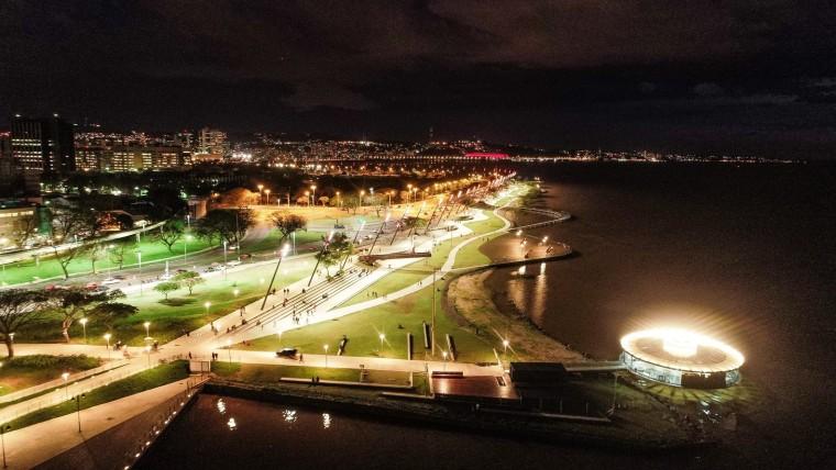 巴西GuaíbaOrla城市公园-21