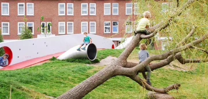 儿童景观,玩起来