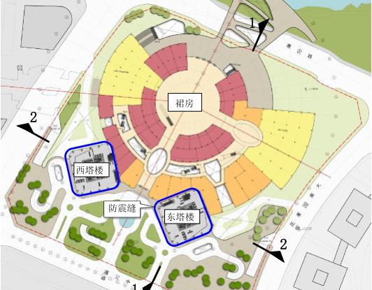 [贵阳]双子塔项目结构抗震专项审查报告(PDF,109页)