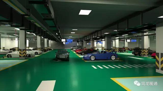 大型车库通风排烟系统设计流程