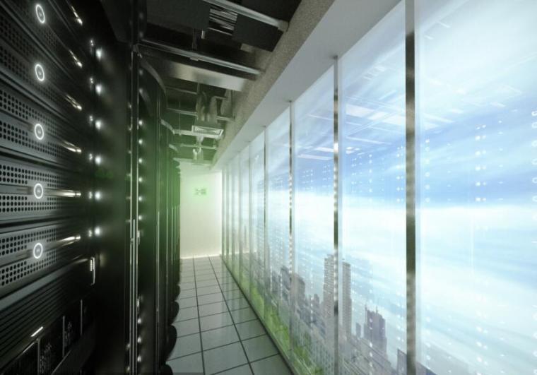 贵阳银行数据中心电气图