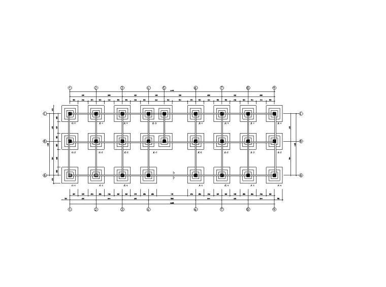 [重庆]四层钢筋混凝土框架结构教学楼(计算书、施组、建筑、结构图)