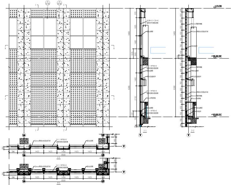 金融贸易中心幕墙工程施工图(2014)-塔楼幕墙大样图2