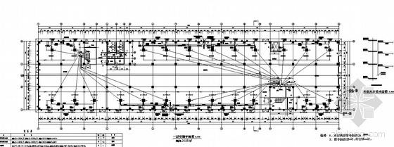 北京某家居展厅楼空调平面图