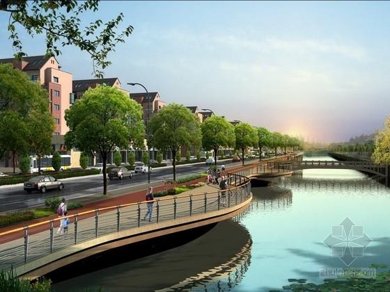 经济开发区城市主干路工程全套施工图(照明工程、排水工程)