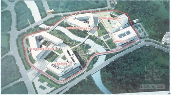 U型大学教学楼设计资料下载-[广东]著名高校教学楼空调通风及防排烟系统设计施工方案(大院作品)