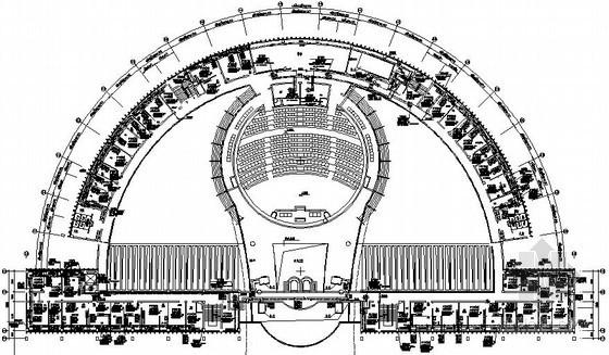 [国外]政府办公大厦中央空调设计施工图