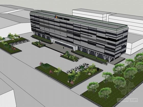 医疗建筑SketchUp模型下载