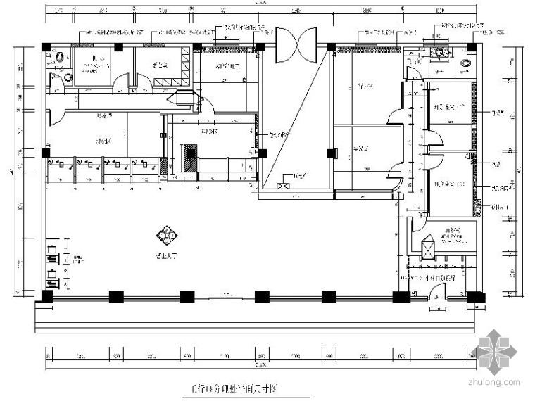 UPS改造资料下载-[山东]某工商银行室内改造装修图