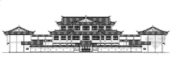 某博物馆建筑cad方案