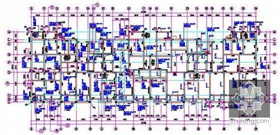 [浙江]2栋住宅楼(含地下室)建筑工程量计算及预算书(含施工图纸)-梁配筋图