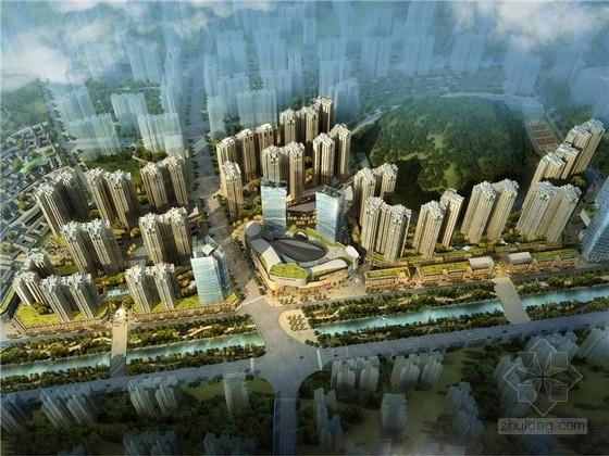 [贵州]现代风格商业综合体片区规划方案文本