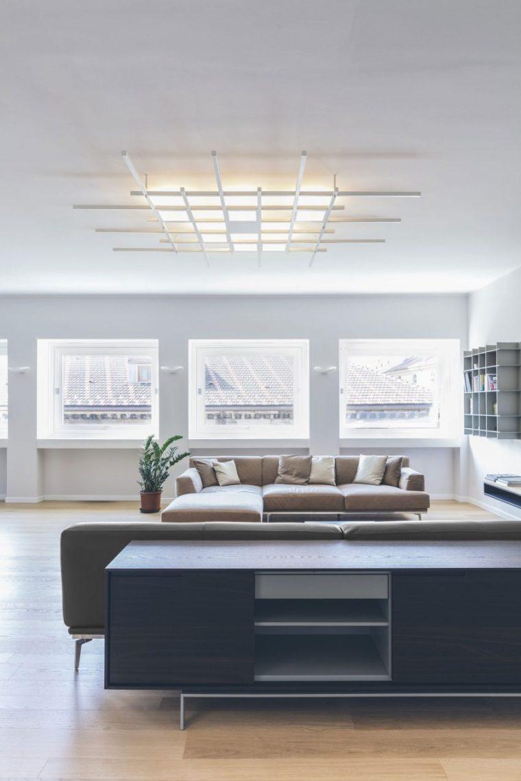 米兰:简洁淡雅的现代公寓_4