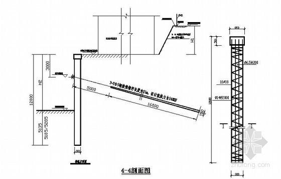 锚杆、土钉墙、围护桩基坑支护施工方案(含计算书 图纸)