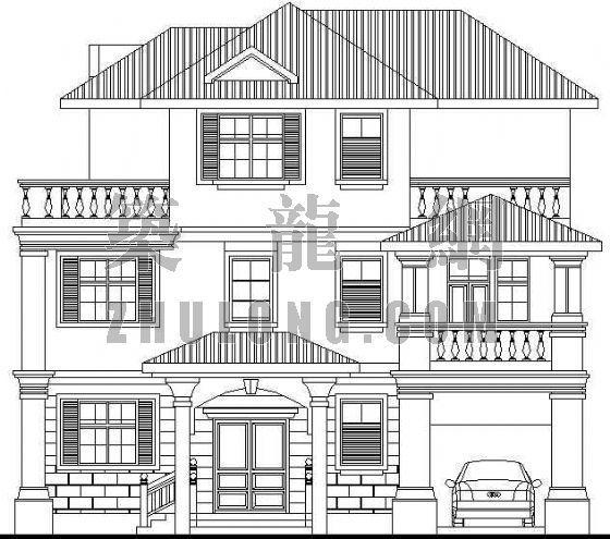 欧式别墅设计方案