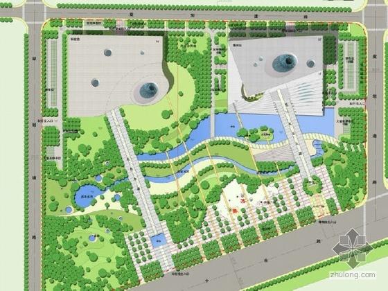 山东广场概念方案设计