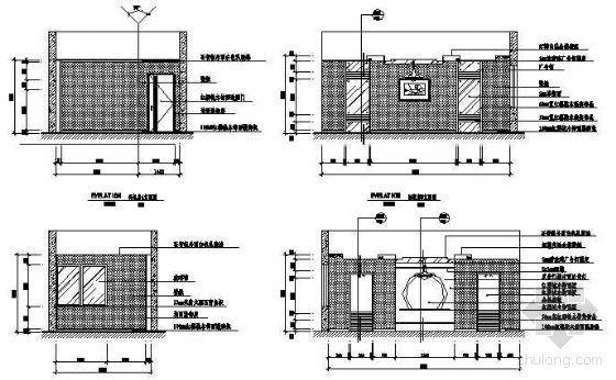 某国税局服务楼包房施工图-2