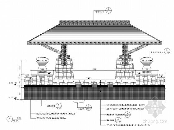 [四川]天府之国典雅居住区景观规划施工图