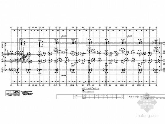 [浙江]三层框架结构普通住宅楼结构施工图