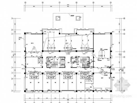 [江西]高层酒店给排水消防施工图