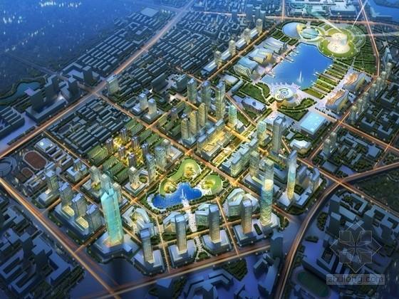 [天津]双城结构城市总体规划设计方案