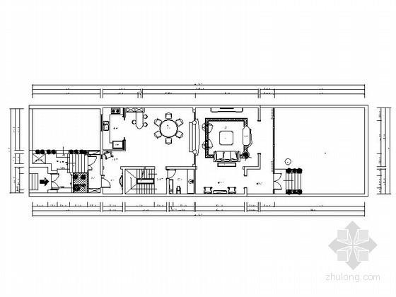 [北京]海淀区某三层别墅奢华欧式装修图