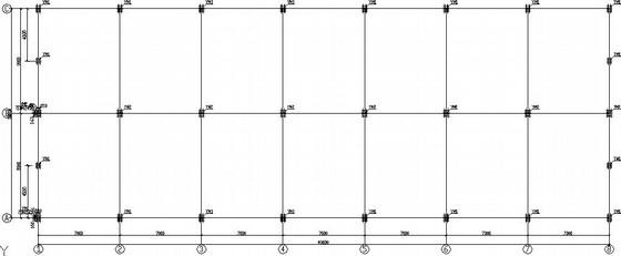 三层门式刚架学校餐厅结构施工图(独立基础)