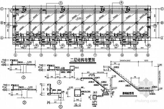二层砖混自建房结构全套施工图