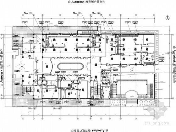 [江苏]住宅小区空调通风设计施工图(8栋楼、地下室、焓湿图)