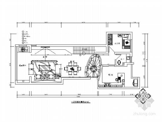 [湖南]高端大气现代风格复式楼室内设计施工图(含效果图)
