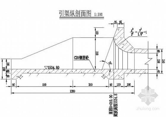 鲁甸县某水库除险加固工程初步设计