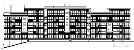 东部花园洋房10栋住宅楼建筑施工图